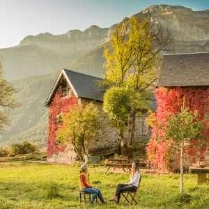 paisajes casas de zapatierno otoño cursos
