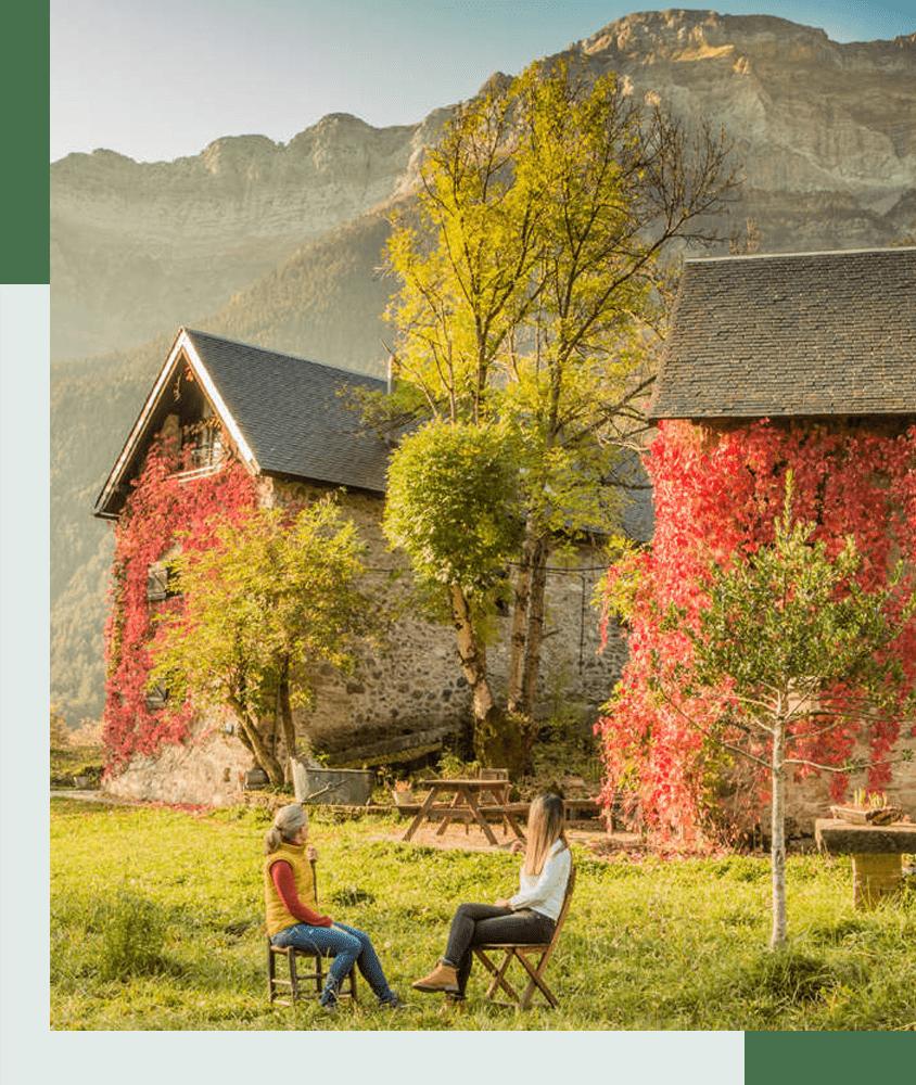 casas de zapatierno alojamiento rural pirineos