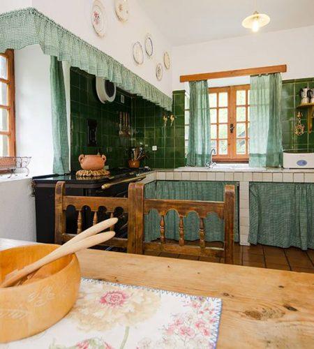 casa carmen alquiler rural cocina